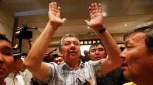 الرئيس السابق  لقرغيزستان أتامباييف -