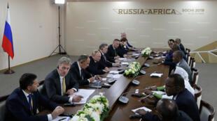 قمة سوتشي بين إفريقيا وروسا يوم 23 أكتوبر 2019