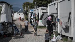 refugiés athenes