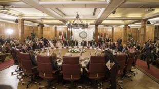 اجتماع وزراء الخارجية العرب في مقر الجامعة العربية بالقاهرة يوم 25 نوفمبر 2019