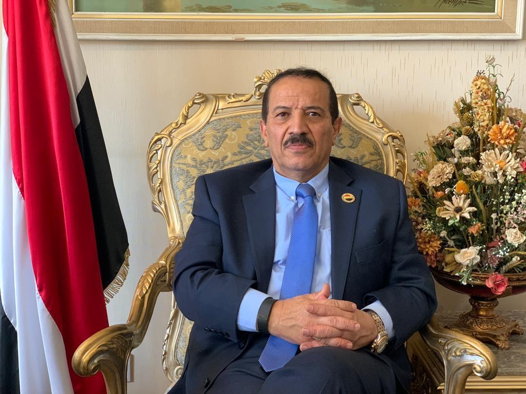 وزير الخارجية في حكومة الإنقاذ الوطني في صنعاء، المهندس هشام شرف