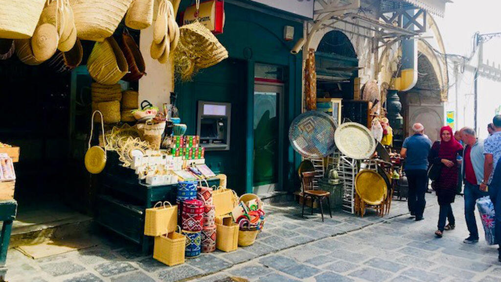 جانب من سوق النحاسين في تونس