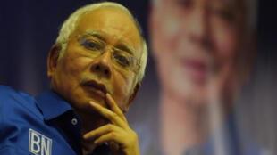 / رئيس الحكومة الماليزية السابق نجيب عبد الرزاق