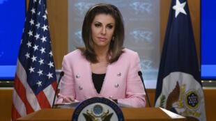 مورجان أورتاجوس المتحدثة باسم وزارة الخارجية الأمريكية