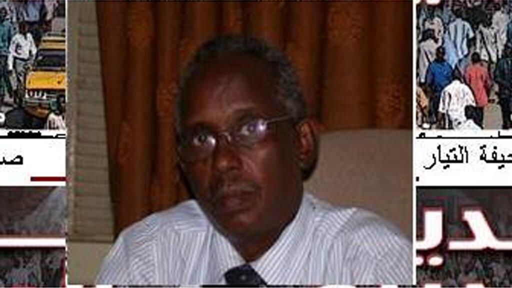 رئيس تحرير صحيفة التيار السودانية عثمان ميرغني