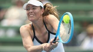 الروسية ماريا شارابوفا لاعبة التنس