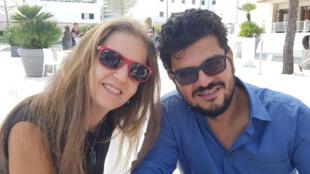 غسان زكريا وإيناس حقي