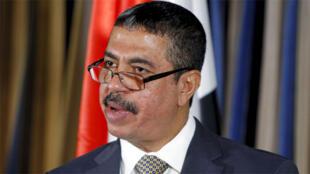 خالد بحاح، رئيس الوزراء السابق الذي عينه هادي نائباً له في 12-04-2015