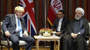 Hassan Rohani & Boris  Johnson