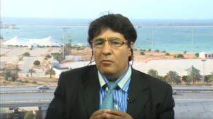 المحلل السياسي  الليبي محمود اسماعيل