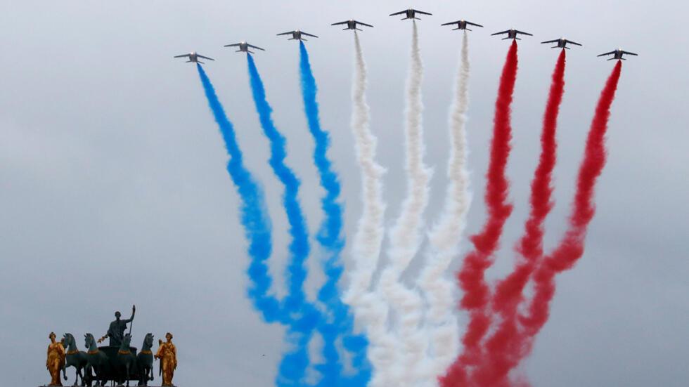 عرض عسكري للجيش الفرنسي في باريس بمناسبة العيد الوطني