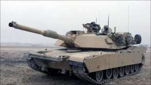 دبابة أميركية من طراز إبرامز