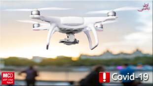 كاميرات في طائرات بدون طيار
