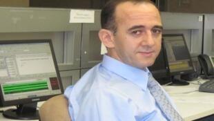 محمود بلحيمر، باحث في العلوم السياسية في واشنطن