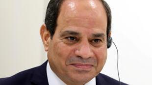 الرئيس المصري عبد الفتاح السيسي -
