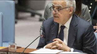 مبعوث الأمم المتحدة إلى ليبيا غسان سلامة-