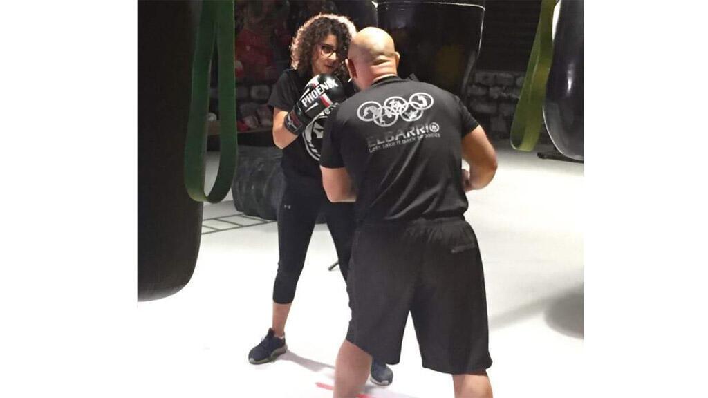 زينة ماضي، أول فتاة فلسطينية تمارس رياضة الملاكمة