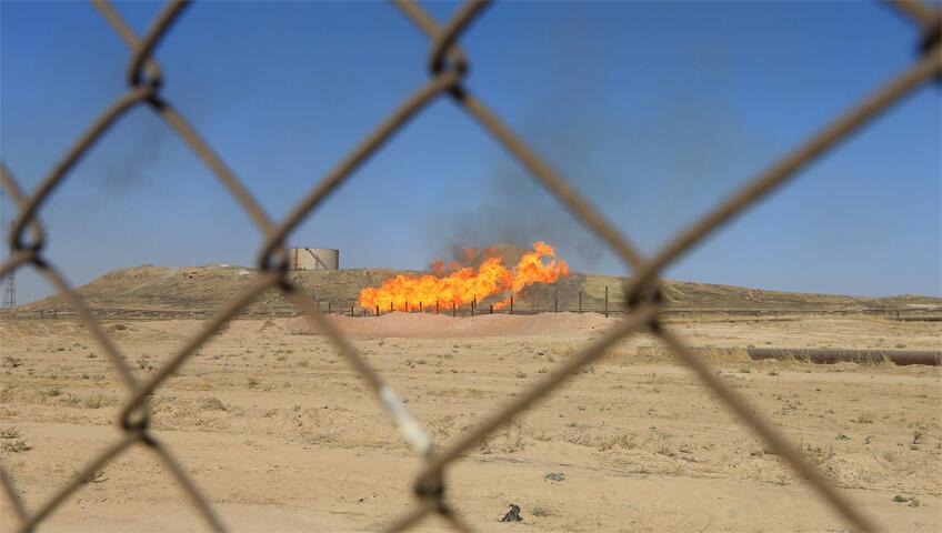 حقل نفطي في كردستان العراق
