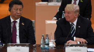 الرئيس الصيني ونظيره الأمريكي