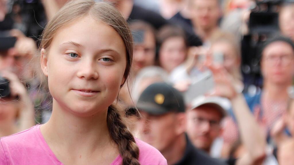 الناشطة السويدية غريتا ثامبرغ