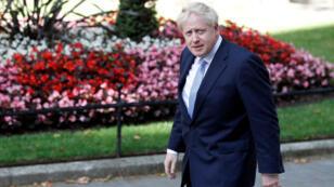 بوريس جونسون رئيس الحكومة البريطانية-