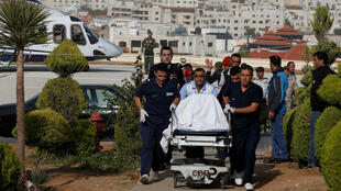 سائح ، أصيب في طعن جرش،تم إحضاره إلى مركز الملك حسين الطبي في عمان