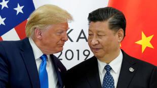 trump- Xi Jinping 29 06 2019