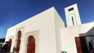 مسجد مدينة بايون بالجنوب الغربي لفرنسا
