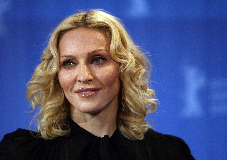 Madonna le 13 02 2008