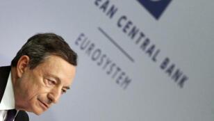 رئيس البنك المركزي الأوروبي ماريو دراغي