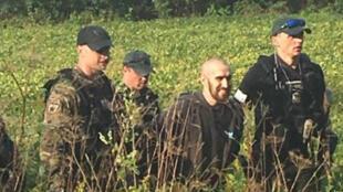 القبض على شون ريتشارد كريستي الذي هدد الرئيس الأمريكي ترامب في منطقة غابات بولاية أوهايو