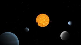 """صورة للكواكب نشرها تلسكوب """"كيوبس"""" الأوروبي"""