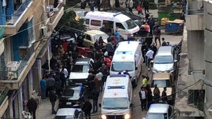 مكان تفجير القنبلة في طرابلس اللبنانية