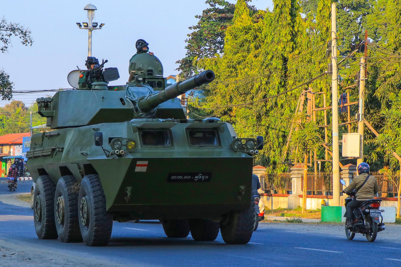 coup d'état en Birmanie