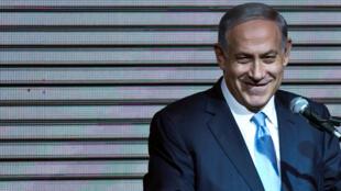 رئيس الوزراء الإسرائيلي  بينيامين نتانياهو-