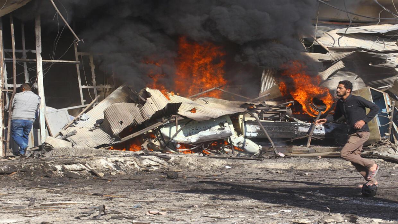 سوريا: مقتل 6 مدنيين جراء 3 تفجيرات في مدينة القامشلي