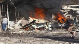 تفجير في سوريا