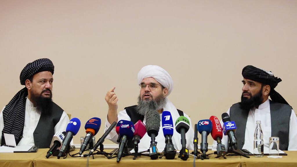 وفد من حركة طالبان الأفغانية في العاصمة الروسية موسكو