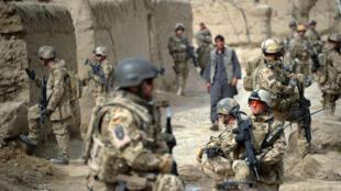 عناصر من الجيش الألماني في مقاطعة قندز، في أفغانستان