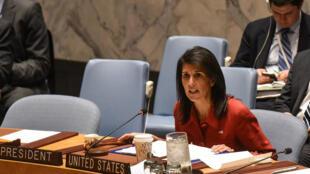 السفيرة الأميركية لدى الامم المتحدة نيكي هايلي