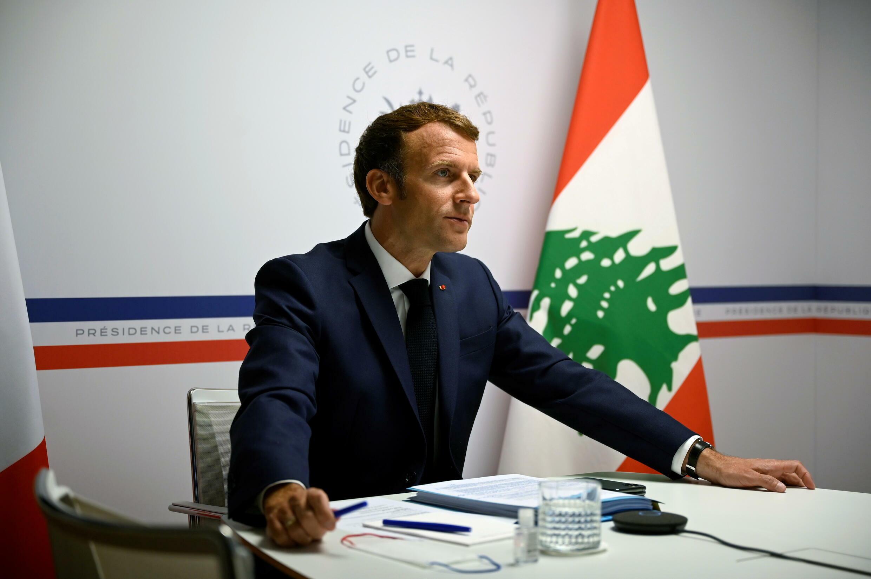 Macron_LEBANON-BLAST-ANNIVERSARY-FRANCE