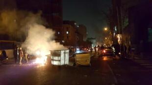 مظاهرات بإيران