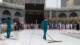 الكعبة في مدينة مكة السعودية