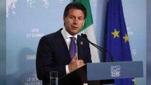 رئيس الوزراء الإيطالي جوسيبي كونتي-
