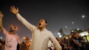 """احتجاجات في مصر""""رويترز"""""""