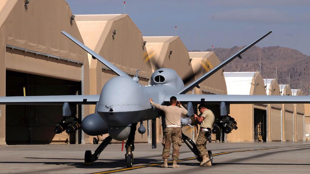 قاعدة للقوات الأمريكية في قندهار في أفغانستان
