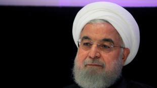 الرئيس الإيراني حسن روحاني-رويترز