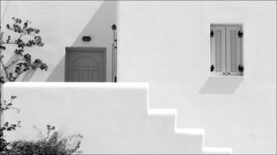 منزل في جزيرة باروس اليونانية