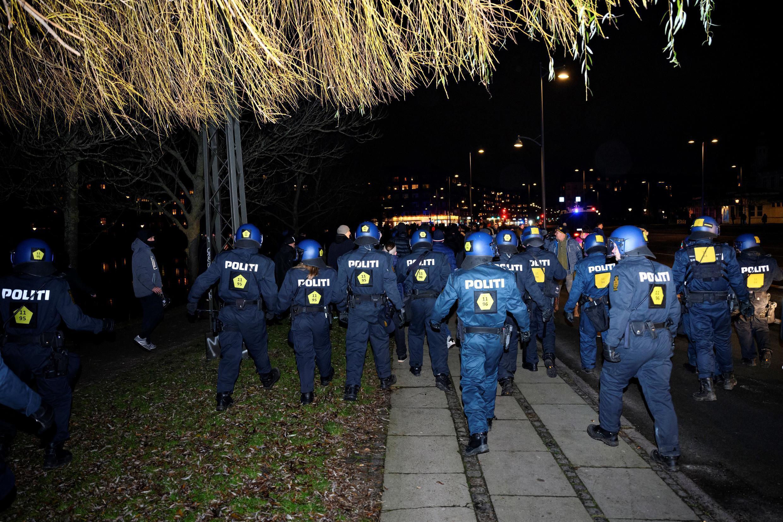 الشرطة  الدنماركية