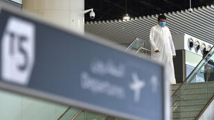 داخل مطار الرياض